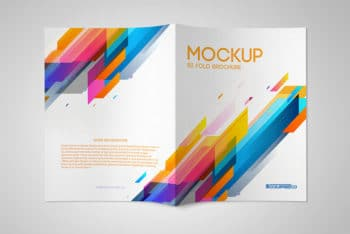 12 Outstanding Bifold Brochure Mockups For Graphic Design 2018