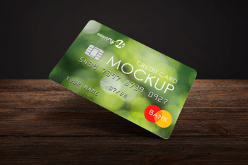 Useful Credit Card PSD Mockup for Free
