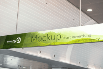 Billboard Advertising PSD Mockup for Free