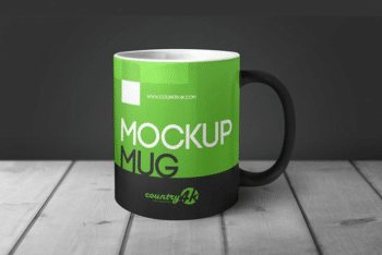 Mug Mockup Available in PSD Format