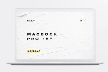MacBook Pro PSD Mockup for Free