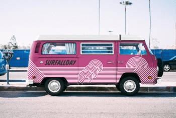Volkswagen Advertising Mockup for Free