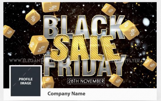 Black Friday Sale Promotional Flyer PSD Mockup Free | DesignHooks
