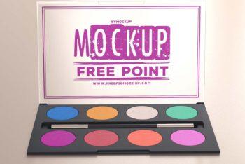 Useful Makeup Kit PSD Mockup for Free