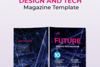 Magazine PSD Mockup Template- Useful Features Blend With A Stunning Look