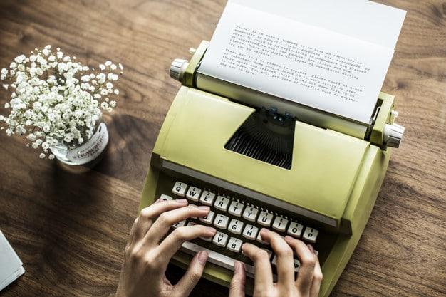 Cute Typewriter Scene