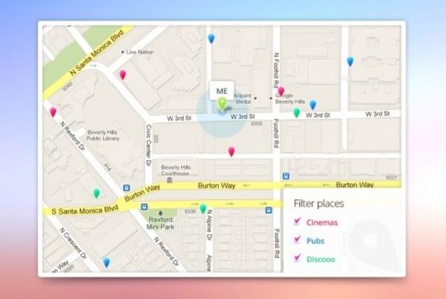 Google Maps Template