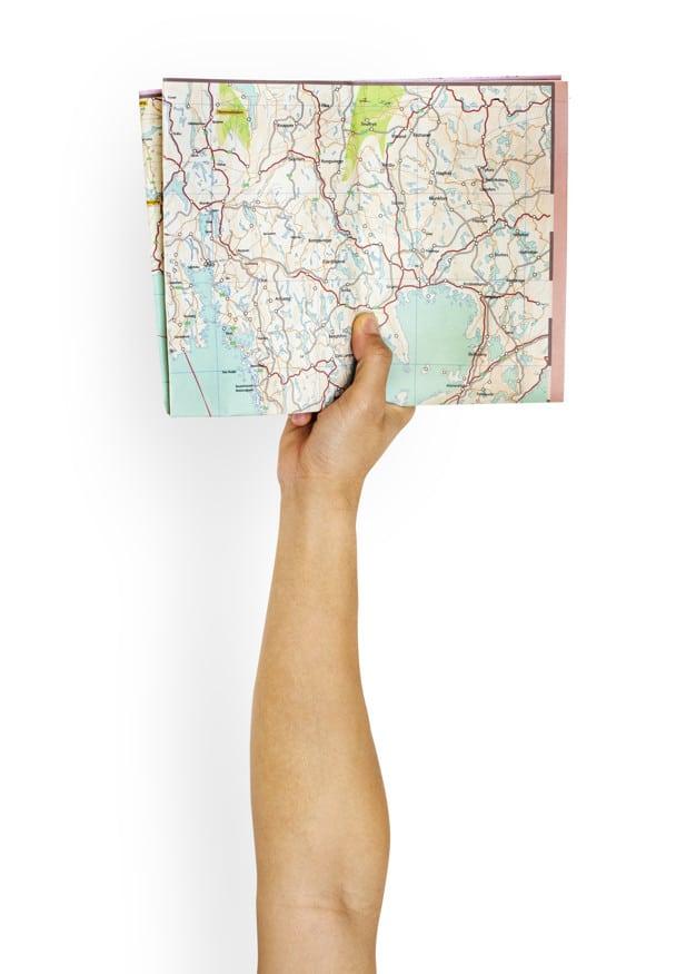 Raised Arm Plus Map