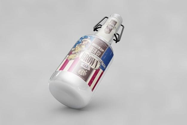 USA Flag Bottle