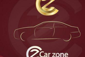 Free Car Company Logo Mockup in PSD