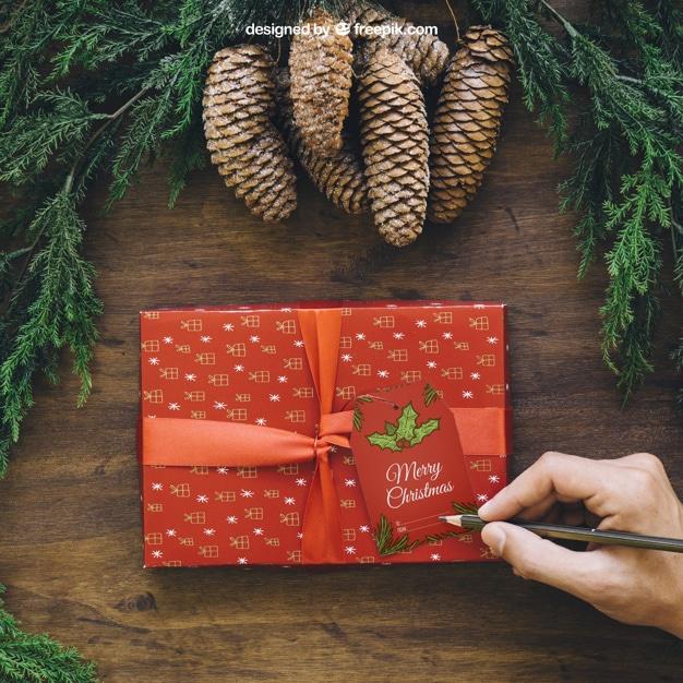Christmas Gift Handwriting