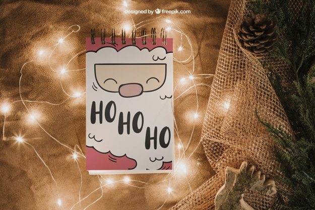 Cute Santa Claus Notepad