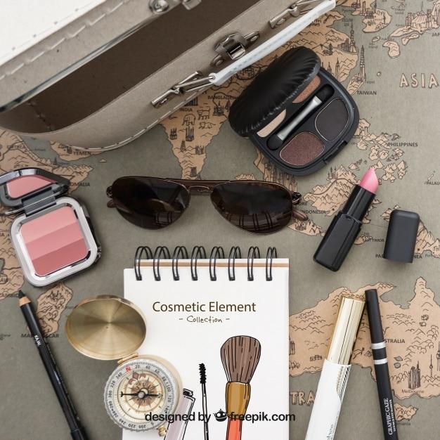 Travel Cosmetic Essentials