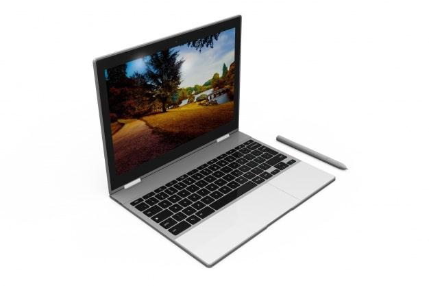 Laptop Computer Plus Stylus Pen