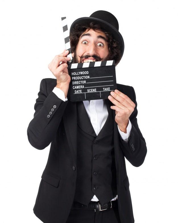 Classy Director Plus Clapperboard