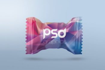 Free Candy Packaging Mockup