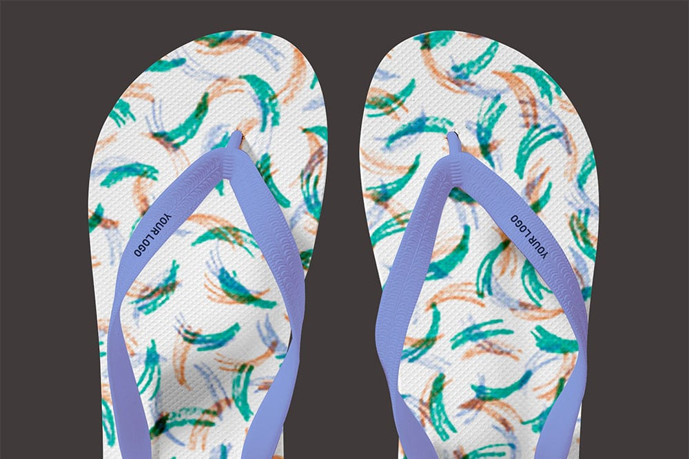 flip flops mockup