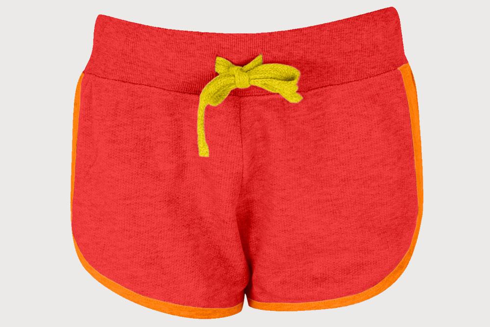 free shorts doll mockup