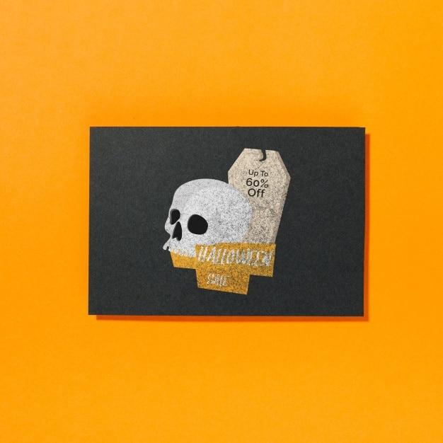 Halloween Sale Plus Skull