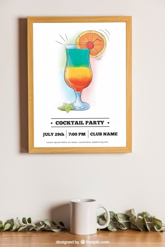Cocktail Party Frame