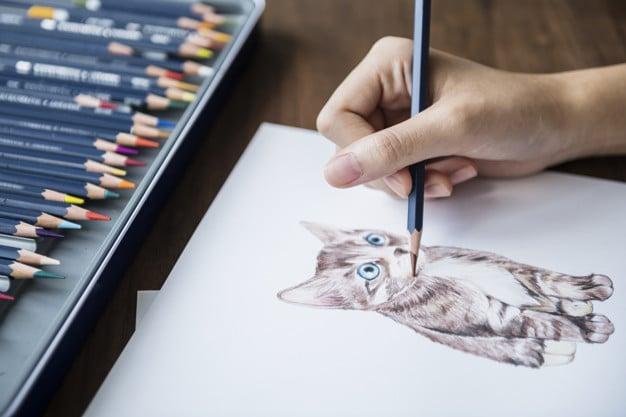 Adorable Kitten Illustration