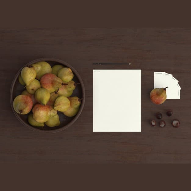 Kitchen Fruits Plus Stationery