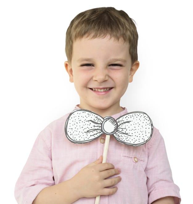 Happy Boy Plus Paper Bowtie