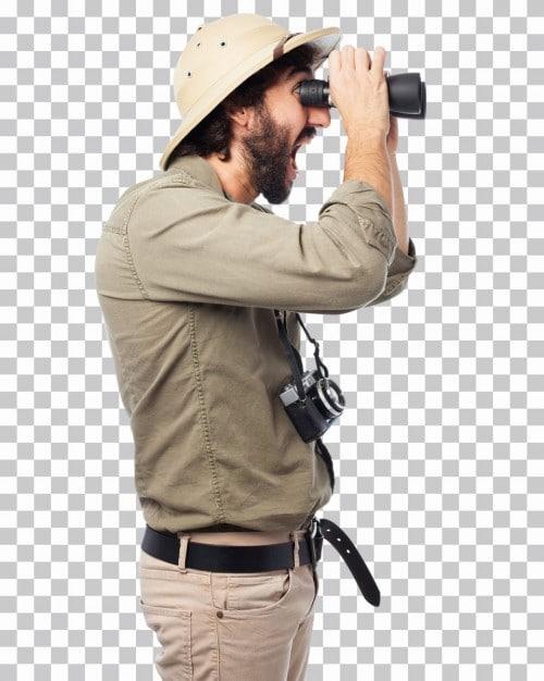 Explorer Man Plus Binoculars