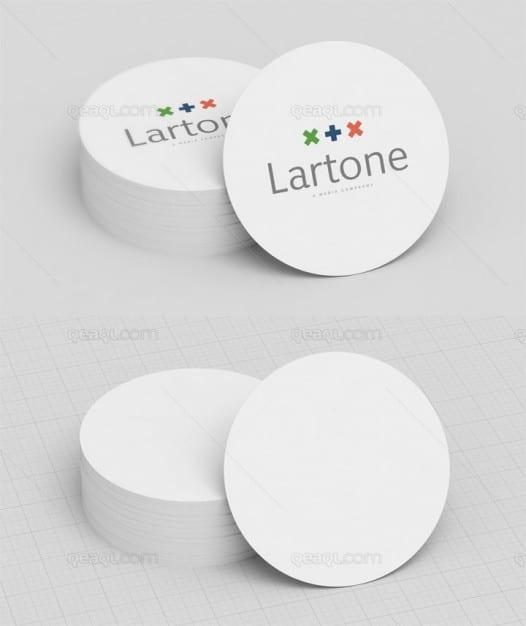 Circle Business Card Design