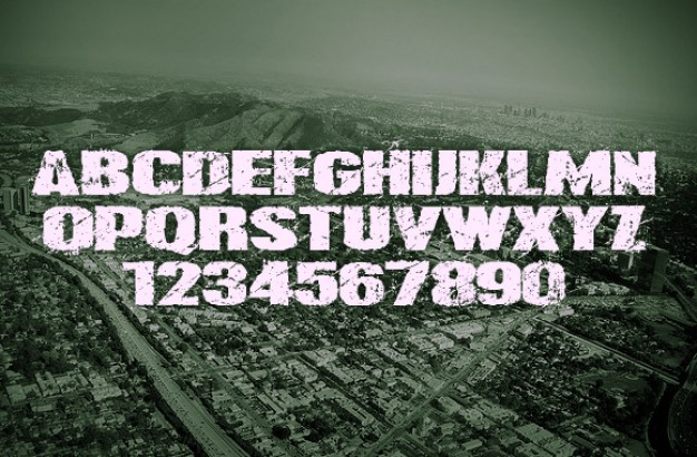 Modern Grunge Typography