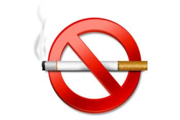 No Smoking Sign PSD Mockup Available for Free