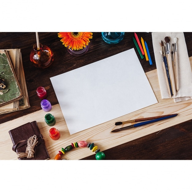 Complete Painting Materials Plus Paper