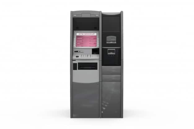 Realistic ATM Front View