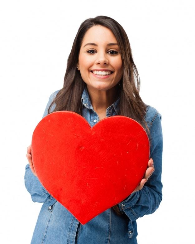 Romantic Teenager Plus Heart