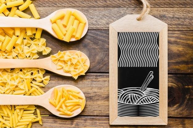 Uncooked Pasta Plus Slate