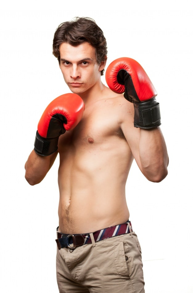 Athletic Boxer Man