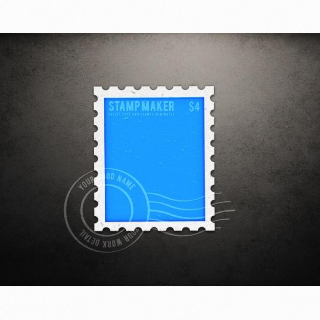 Letter Stamp Design
