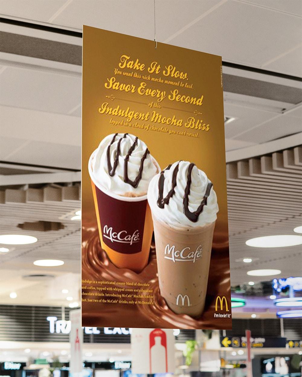 supermarket advertisement mockup
