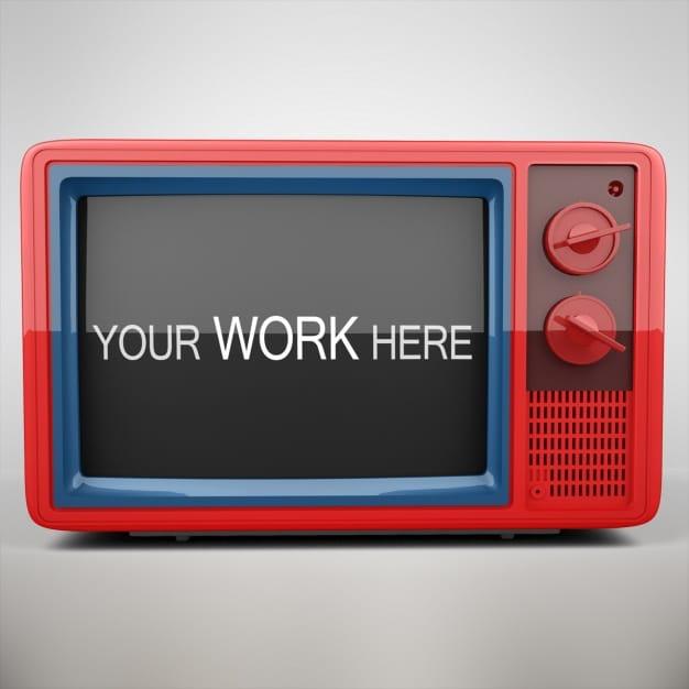 Colorful Retro Television