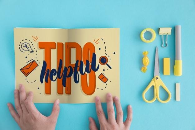 Folded Paper Plus Tips