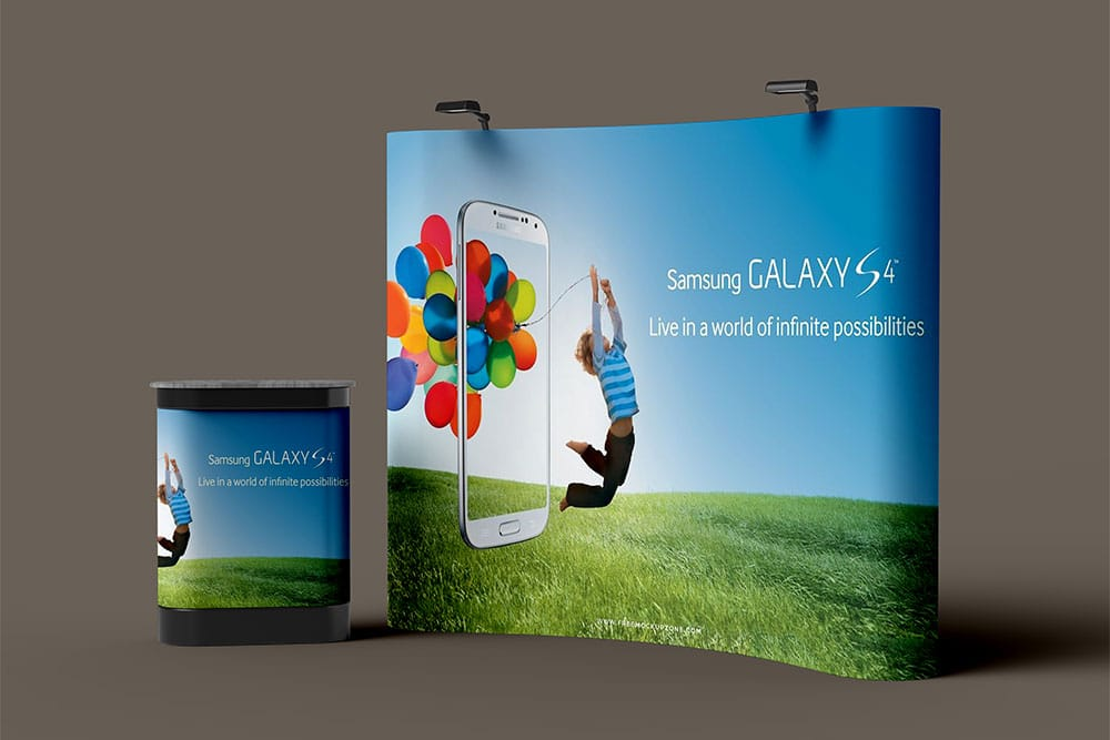 Download This Free PSD Trade Show Booth Mockup - Designhooks