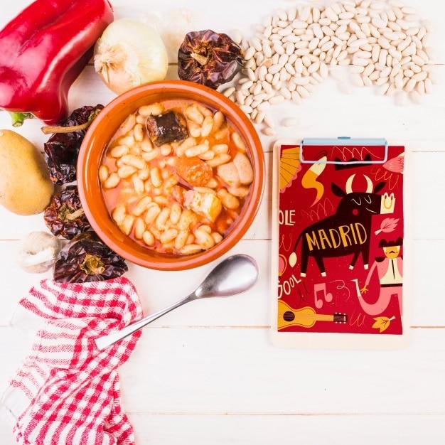 Spanish Bean Food
