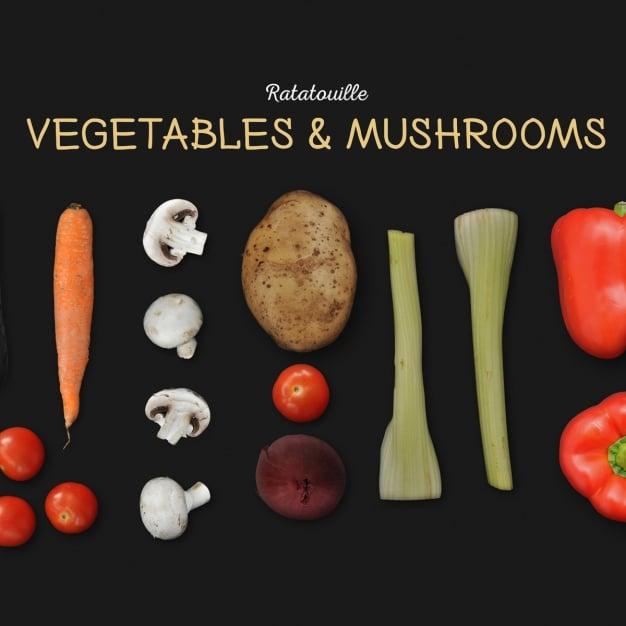Vegetables Plus Mushrooms