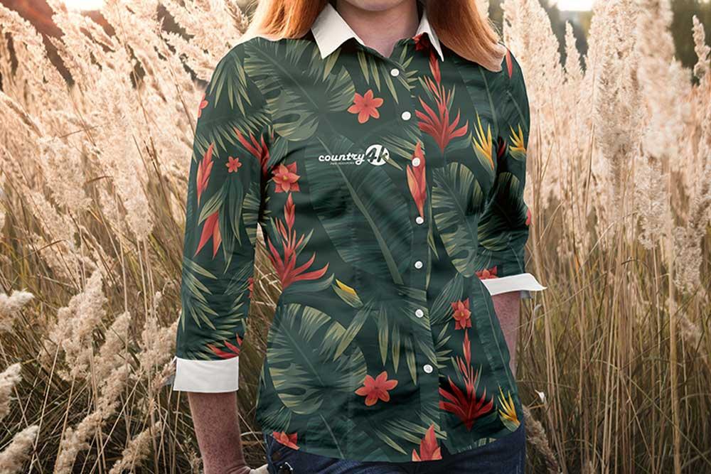 free women blouse mockup