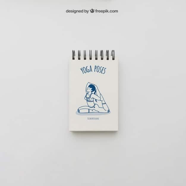 Yoga Pose Notepad