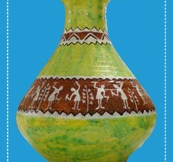 Free Traditional Ethnic Vase Mockup in PSD