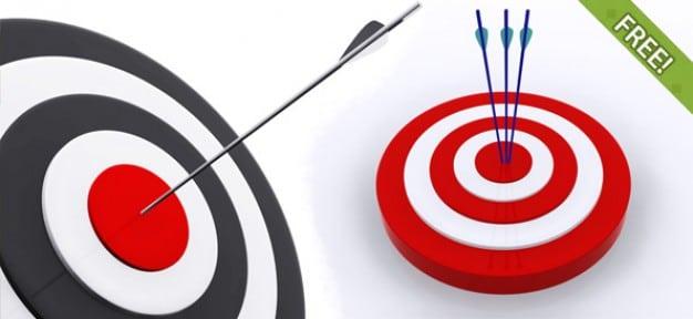 3D Bullseye Target Design