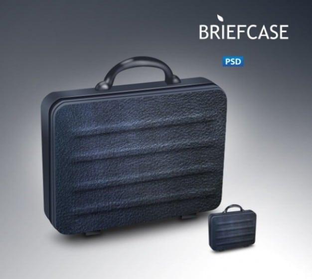 Classy Black Briefcase