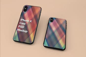 Useful iPhone Case PSD Mockup for Free