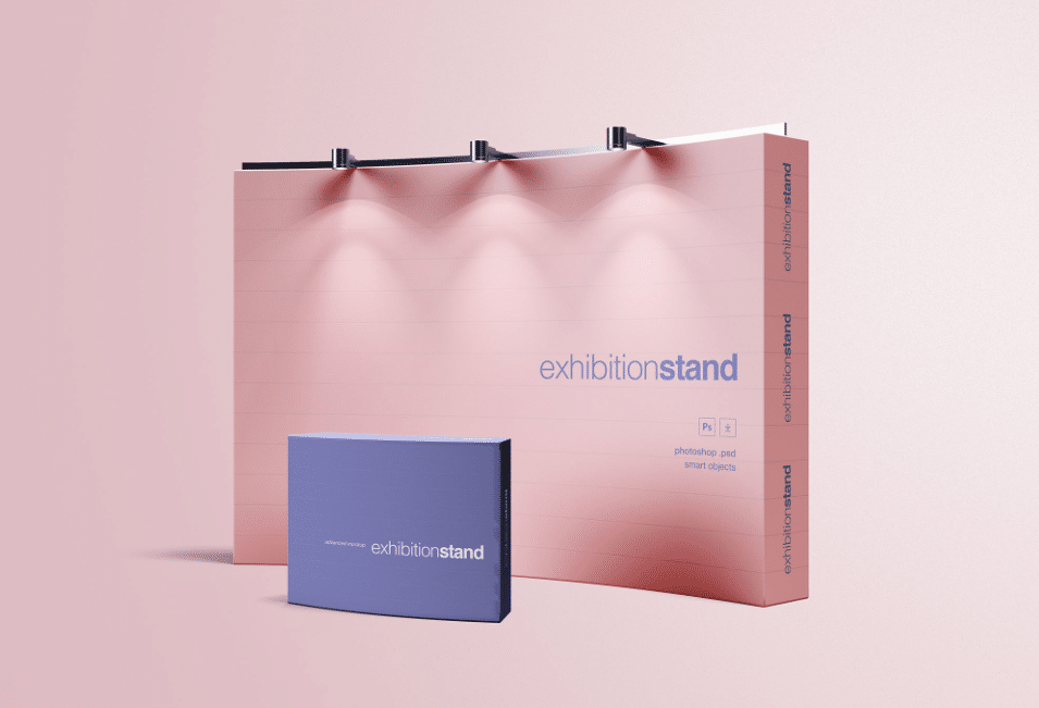 Exhibition Stand Freebies : Exhibition stand mockup download for free designhooks